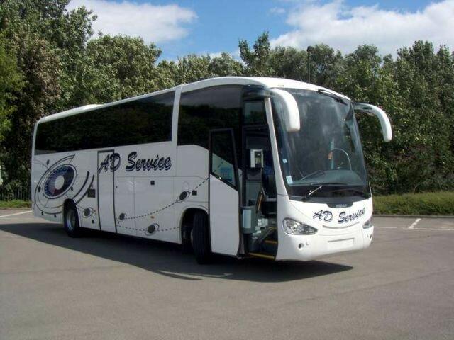 Пассажирский автобус Scania Irizar PB